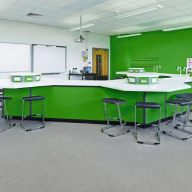 Anti-static safe floor for Hammersmith Academy, London