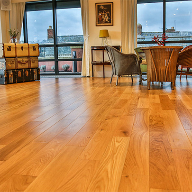 Stunning wood flooring for iconic building