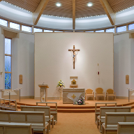 Stone Church Furniture for the Little Sisters of the Poor