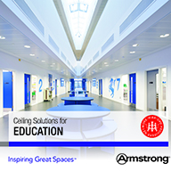 Solutions for education is latest RIBA CPD from Armstrong