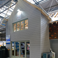 Heritage & modern looks blend at homebuilding show
