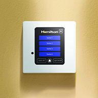 Touch Screen Controller for Hamilton's Mercury® Lighting