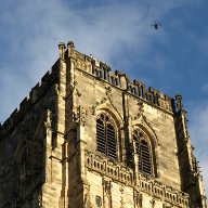 Aerial Drone Surveys at  Durham Cathedral
