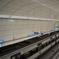 Underground cladding for Intxaurrondo Station