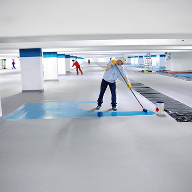 Waterproofing system for underground car park