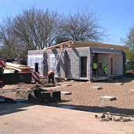 Modular classrooms delivered ahead of schedule