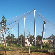 Architectural mesh for Rabat Zoo