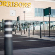 Street Furniture and Fencing for Morrisons Supermarket