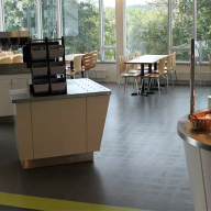 nora flooring system for University of Ulster