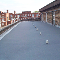 Topseal ideal for Local Authority Flat Roofs