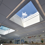Em-Glaze Flat Glass Modular Rooflights