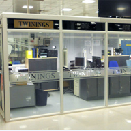 Glasdon provides new office for Twinings