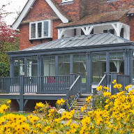 Vale provide colourful conservatory