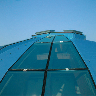 Wecryl waterproofing system for SKR Roof Dome