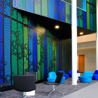 Bespoke Proteus panel system for Wellcome Trust
