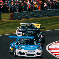 Cole chases podium in the N&C Carrera Cup GB race car