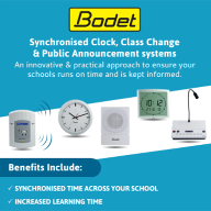 Bodet launches new Integrated PA & emergency alert systems for schools