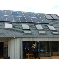 Triple-glazed roof windows for North Berwick Passivhaus design