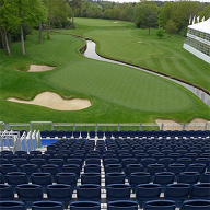 The BOX Seat 901 seats guests at Wentworth Golf Club