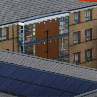 Redland Solar PV Panels for Brunel University