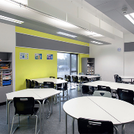 Zehnder multi service foil for Hampton & Twickenham Academies