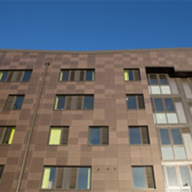 Eye-catching shades of grey for student accommodation