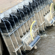 ACE fish friendly Flap Valves improve flood defence