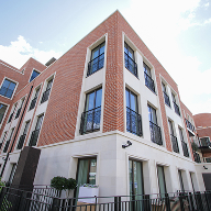 Chelsea luxury development features Hueck window and door systems