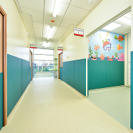 Polyflor vinyl flooring at Halton Hospital