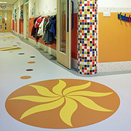 Polyflor creates bespoke Expona Flow design for nursery