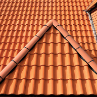 New build home uses new clay interlocking single pantile