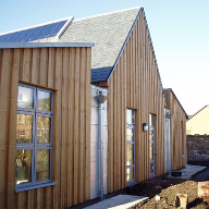 SSQ roofing slate for Prestonpans Library