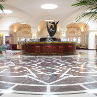 Halmann International flooring at Phoenicia Hotel