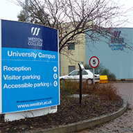 Signs Now install wide ranging signage for Weston College