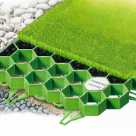 RECYFIX® GREEN grass reinforcement modules at Banovallum School
