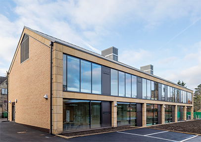Nvelope supports new building at Repton School