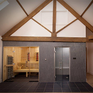 Dalesauna supplies to a private residence in York