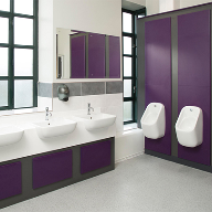 Huddersfield University chooses Aero Pearl washrooms