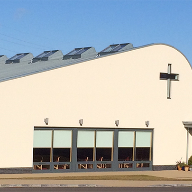 FAKRO roof windows for new community church
