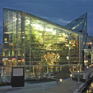 Novum supply glass features for National Aquarium