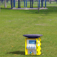Pop up Power units for Victoria Park