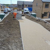 Resin bound surfacing gives access to Bridlington estate