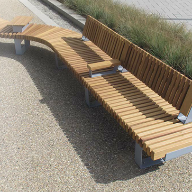 Furnitubes launch RailRoad modular bench & seating range