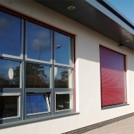 Security shutters for Newark Primary School