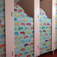 Vinyl Decal Cubicles at Links Primary