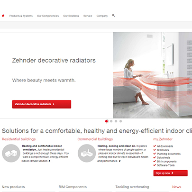 Zehnder launches new website