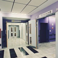 Strada ironmongery at St Bernard's hospital