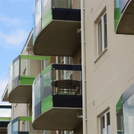 Sapphire balustrades for retirement development