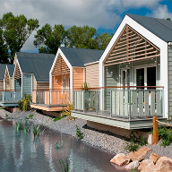 Butlins chalets come to life with Cedral Weatherboard