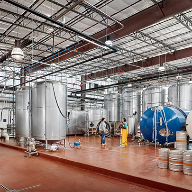 Cementitious urethane flooring systems for Alamo Beer